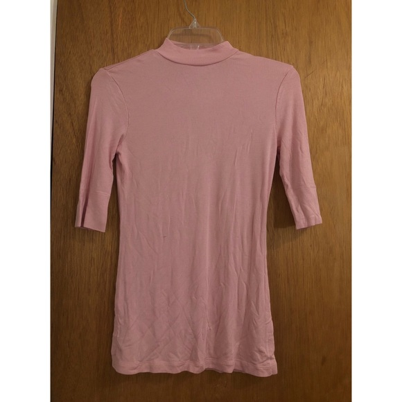Cuddl Duds Tops - 3/4 sleeve high neck thermal